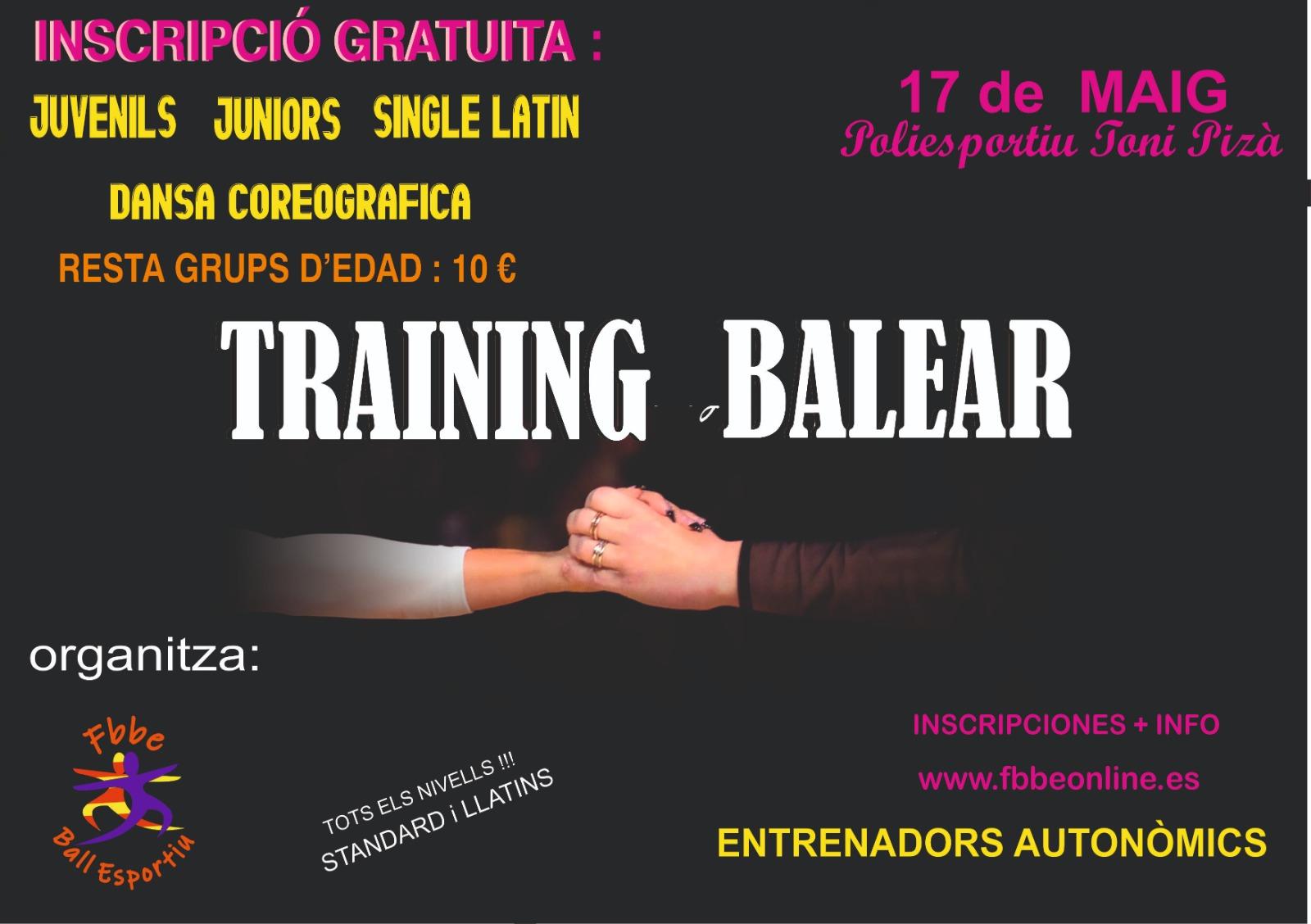 Trainning maig 2020